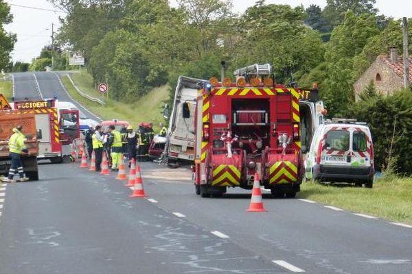 L'accident mortel à Castres mardi.