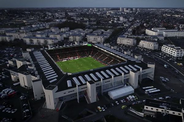 """Le stade d'Ornano, """"jardin"""" du Stade Malherbe de Caen"""