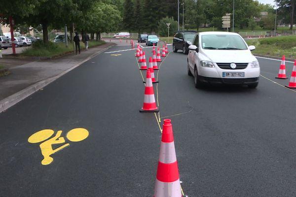 La ville de Besançon arrête l'expérimentation de piste cyclable sur un tronçon des boulevards Churchill et Kennedy