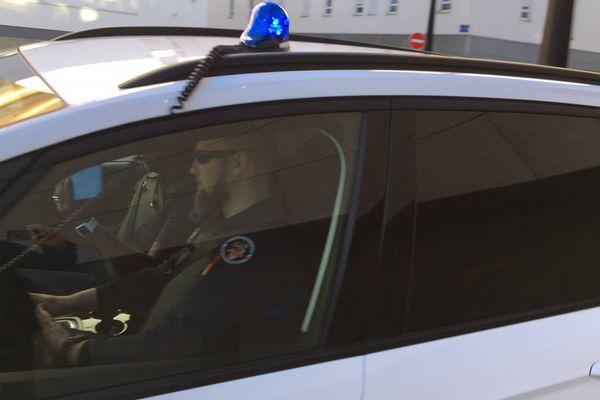 La sortie de Nordahl Lelandais ce lundi 19 mars au Palais de Justice de Grenoble