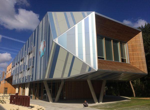 Le nouveau bâtiment de l'école ISTOM à Angers créé par GOA Architecture