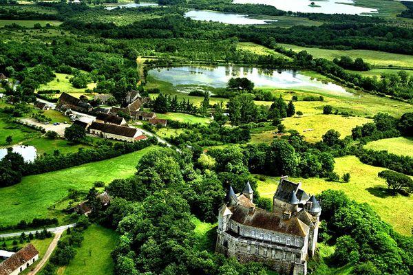 Le parc régional de la Brenne, dans l'Indre.