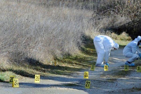 Les enquêteurs sur place après la disparition de Patricia Bouchon.