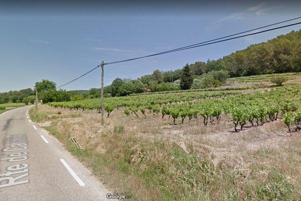 L'homme se trouvait sur la route de Cabasse, au Luc en Provence, où il participait à une battue aux sangliers