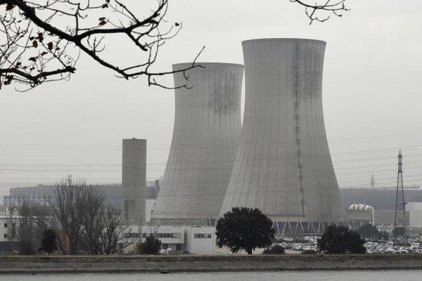 La centrale nucléaire du Tricastin, dans la Drôme, le 25 janvier 2017.