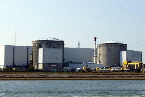 La centrale de Fessenheim, doyenne des centrales nucléaires françaises en activité