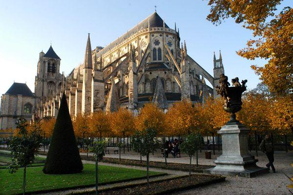 La cathédrale de Bourges.