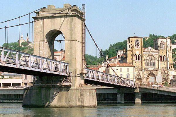 Le Rhône, à Vienne