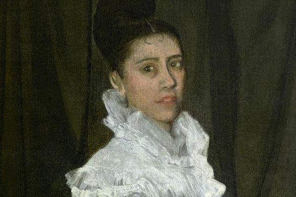 Ce tableau du peintre américain James Abott Whistler est estimé à un demi-million d'euros.