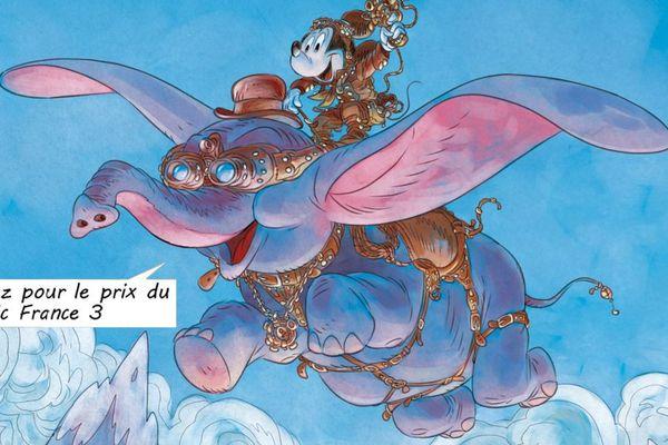 Affiche du 42e festival Chambéry Savoie BD