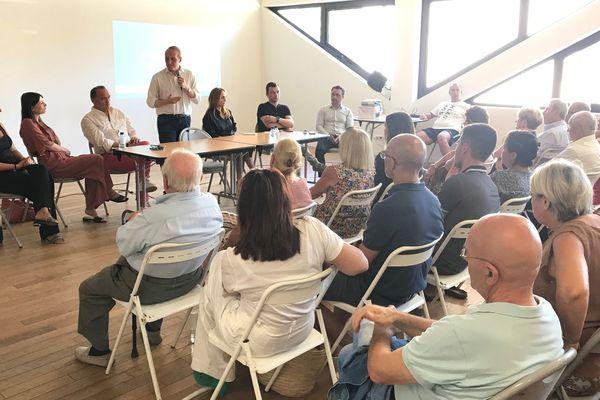 Ce samedi 13 juillet, Laurent Marcangeli, maire d'Ajaccio et à la tête de la formation politique Le Mouvement a réuni ses sympathisants à Ajaccio.