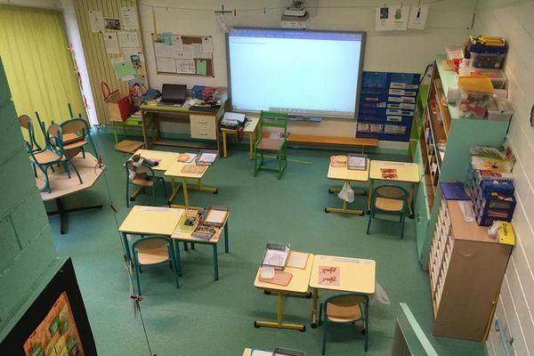 Dès demain, 20 élèves de grande section retrouveront leurs classes au groupe scolaire Pierre Ravel de Châtel-Guyon