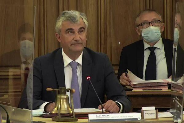 André Accary a été réélu à la tête du conseil départemental de Saône-et-Loire ce jeudi 1er juillet.