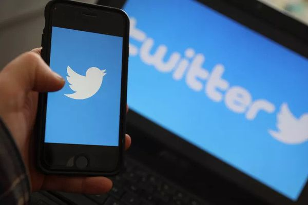 Le logo du réseau social Twitter (illustration).