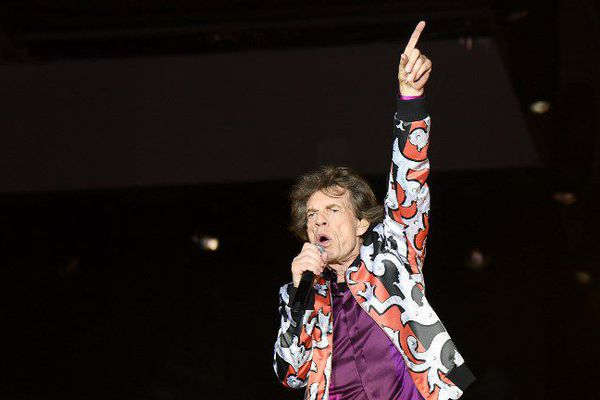 Mick Jagger, le leader du groupe