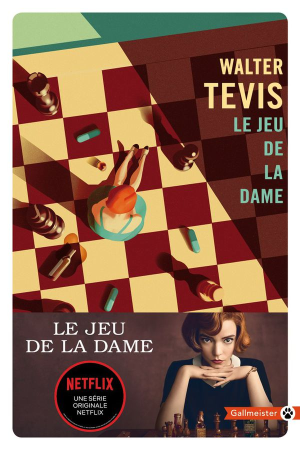 """""""Le jeu de la dame"""" vient dêtre publié à 70 000 exemplaire par les éditions Gallmeister."""