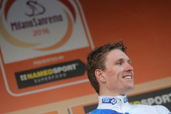 Arnaud Démare, vainqueur de Milan- San Remo.