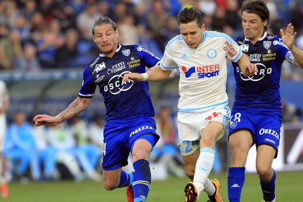 Les joueurs de l'OM accusent une nouvelle défaite face à Bastia.