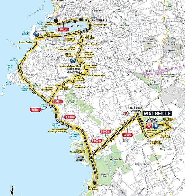 TDF 2017 - Etape 20 à Marseille