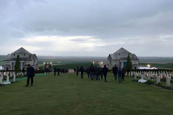 Les plaines de la Somme vues depuis le mémorial national australien de Villers-Bretonneux.
