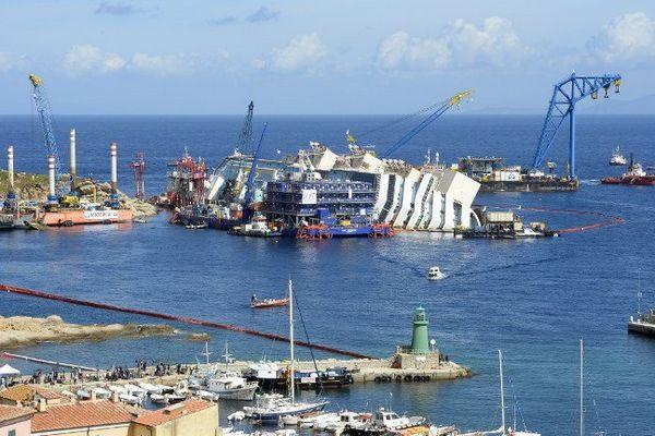 Île de Giglio, le 16 septembre 2013