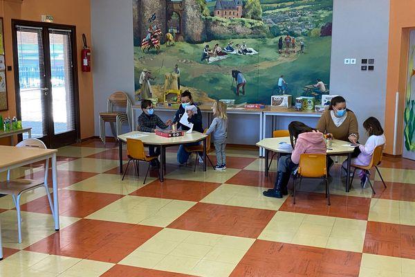 Avril 2021 : un centre de loisirs de Seine-Maritime ouvert pendant les vacances de Pâques pour accueillir les enfants dont les parents ont des professions indispensables
