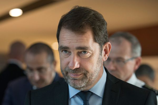 Illsutration de Christophe Castaner Ministre de l'Intérieur.