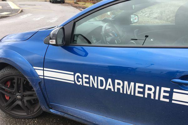 Une voiture de la gendarmerie (image d'illustration)