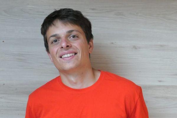 A tout juste 20 ans, David Lombardot peut se vanter d'une première compétition au plus haut niveau mondial.