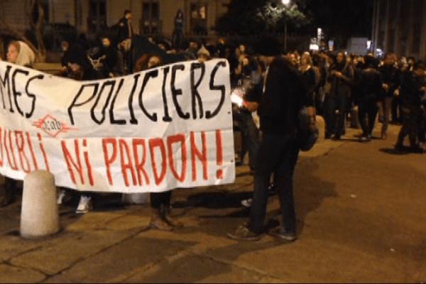 Un hommage au militant Rémi Fraisse tué à Sivens sur le site du chantier