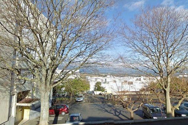 Carcassonne - vue de la cité Fleming - archives Google street