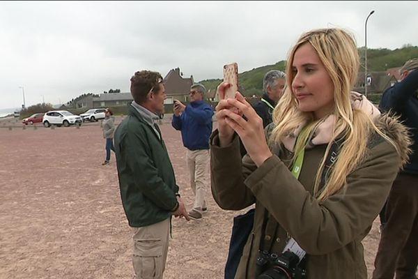 Caroline Ducrot, blogueuse voyage, était du blogtrip organisé par la SNCF pour faire découvrir son offre autour du Débarquement