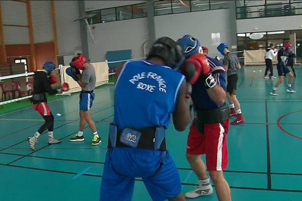 Championnat d'Europe de Boxe, les jeunes du Pôle France se préparent à Hauteville
