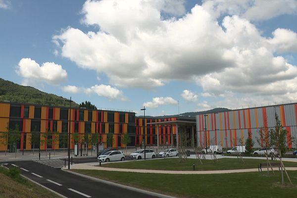 Le nouvel hôpital de Voiron (Isère) a été inauguré lundi 30 août 2021.