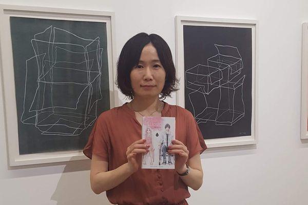 La mangaka Rie Aruga de passage à Paris pour les 20 ans de la Japan Expo