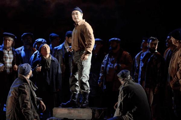 Alfred Kim sur la scène du Capitole
