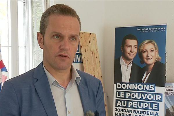 José Dinucci interviewé lors d'un reportage en avril 2019 à Tulle.