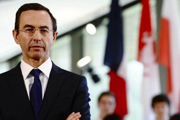 Bruno Retailleau le sénateur et président du Conseil Général de Vendée.