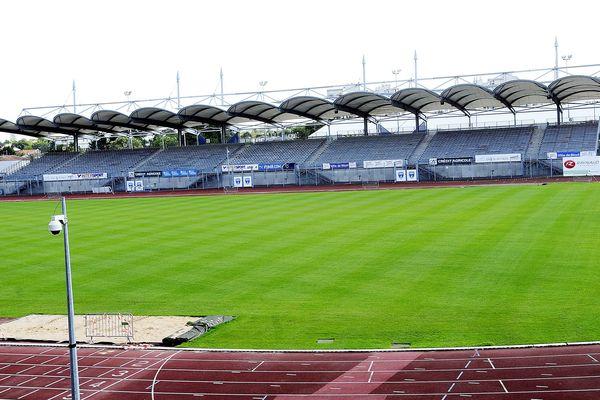 Le stade René Gaillard de Niort (Deux-Sèvres) - Archives 2014
