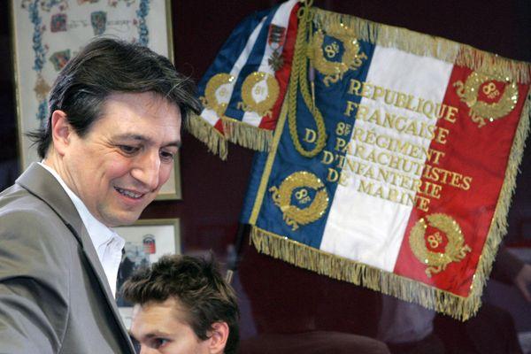 Le maire de Castres, Pascal Bugis, en 2007.