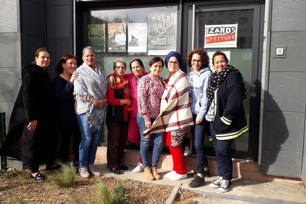Les cours de théâtre ont permis à Zhora, Rhora, Yolande, Yamina, Yamina, Kaoutar et Hakima de trouver leur voix