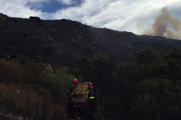 11/08/17 - Un incendie a éclaté dans la nuit de jeudi à vendredi dans le Cap Corse
