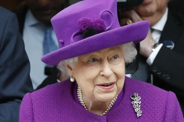 La Reine Elizabeth II photographiée en février.