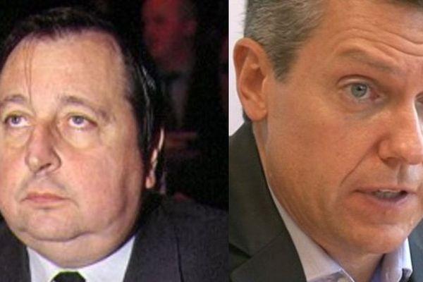 Claude Nougein ( à gauche) et Michel Paillassou ont été investis par l'UMP pour les élections sénatoriales en Corrèze