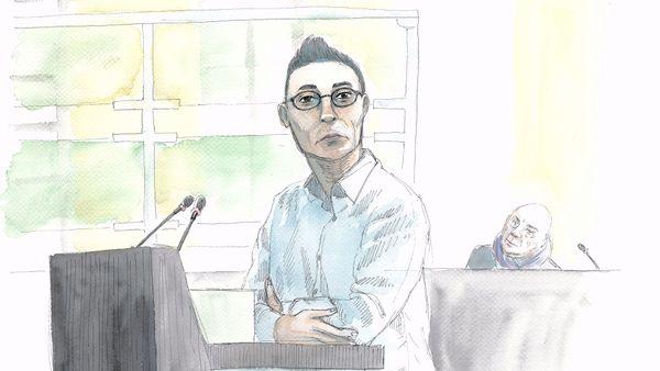 Romuald Julliard lors du procès de Willy Bardon le 3 décembre.