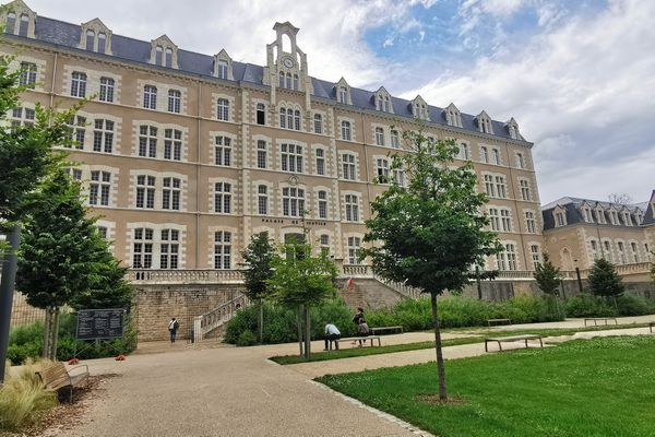 Photo d'illustration. Le palais de justice de Poitiers.