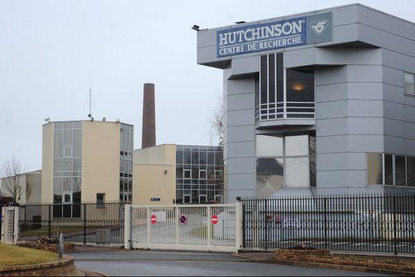 Le site de Hutchinson, à Châlette-sur-Loing.