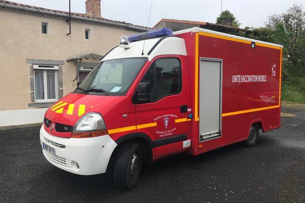 L'unité de vaccination des pompiers des Deux-Sèvres