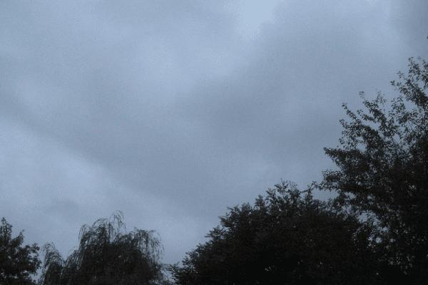 La couleur du ciel à 7h