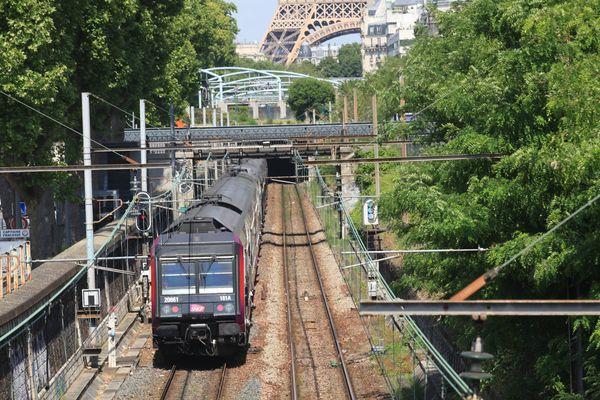 Le RER C.